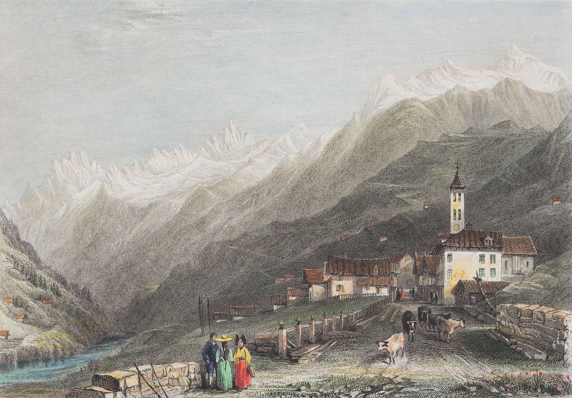 Première route de montagne | Portail Alptransit
